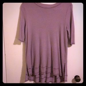 Like new-waffle knit top